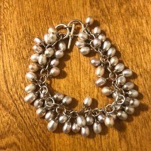 Silpada pearl bracelet.